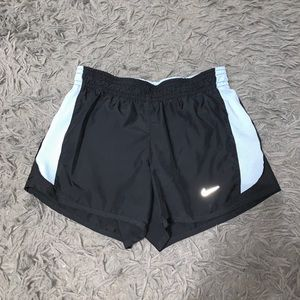 Nike DriFit Black & Baby Blue Shorts